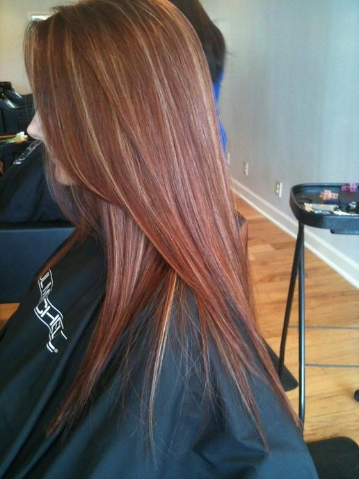 Red Hair Blonde Highlights Hairstyles How To