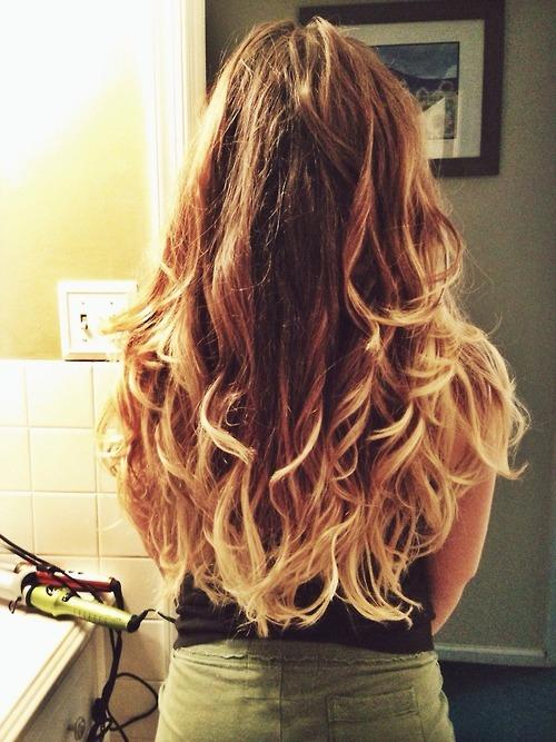 messy frosted ombre hairstyles how to