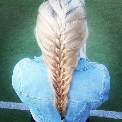 Platinum Mermaid Braid Hairstyles How To