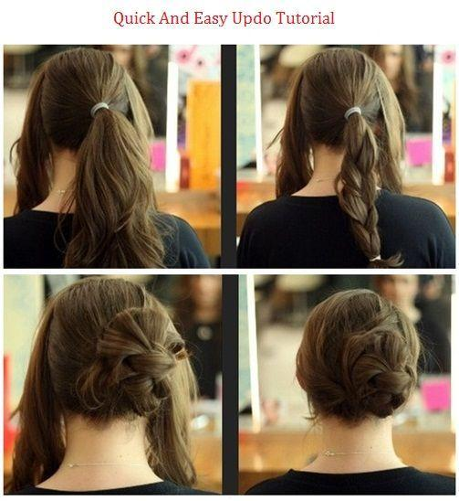 Braid Bun Search Results Hairstyles How To